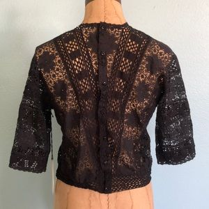NWT nightcap lace top